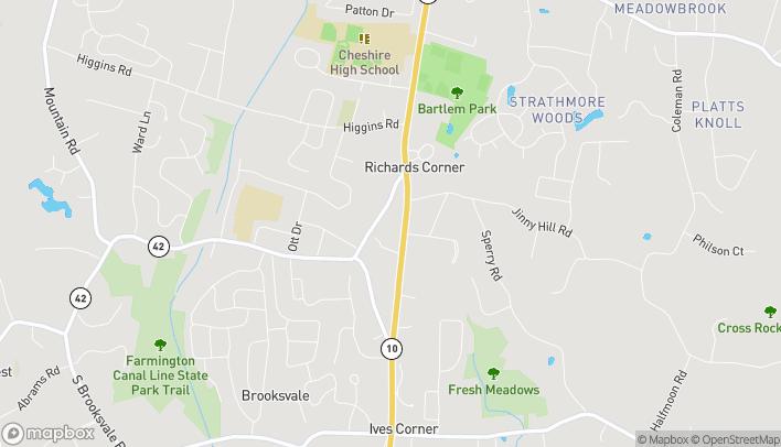 Mapa de 953 S Main St en Cheshire