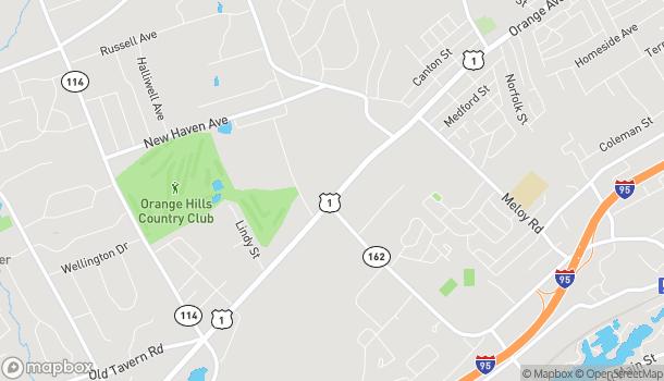 Map of 91 Boston Post Rd in Orange