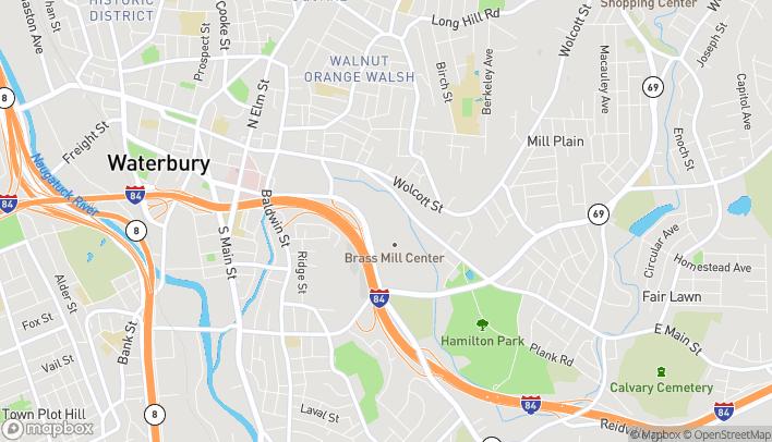 Mapa de 495 Union St en Waterbury