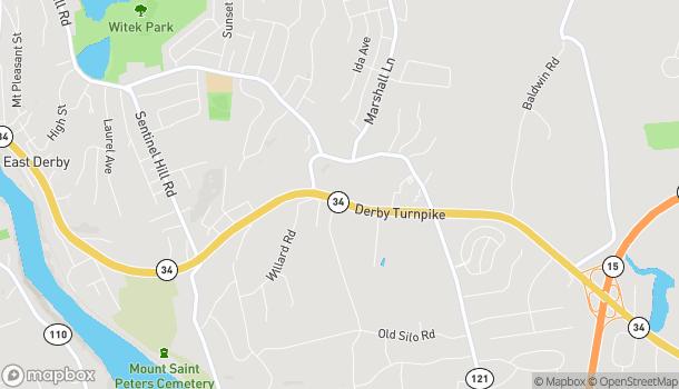 Mapa de 630 New Haven Ave en Derby