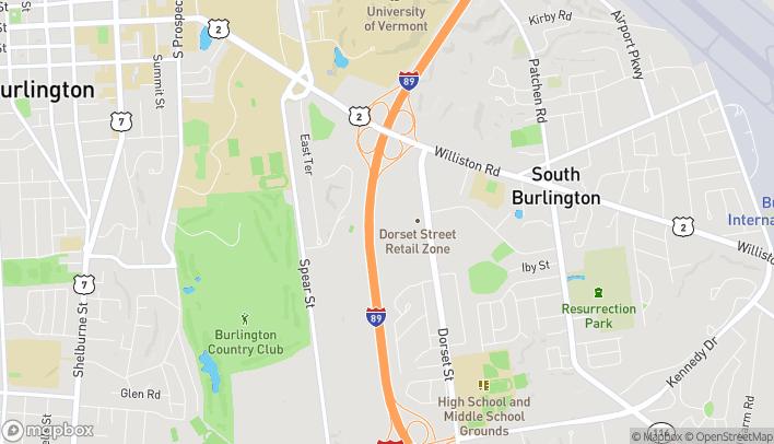 Map of 155 Dorset St in South Burlington