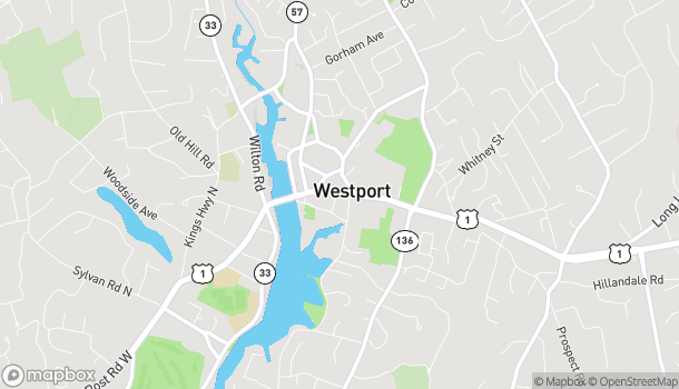 Map of 180 Post Rd E in Westport