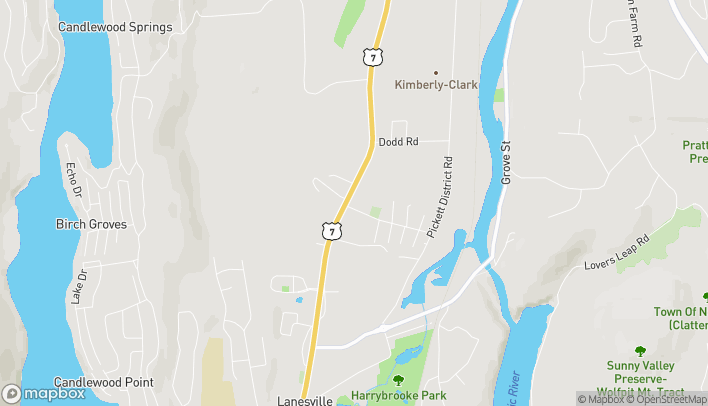 Mapa de 169 Danbury Road en New Milford