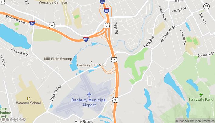 Mapa de 4 Backus Ave en Danbury