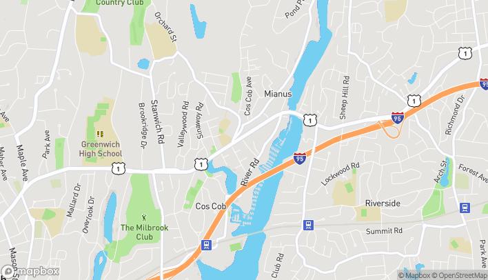 Map of 409 E Putnam Ave in Cos Cob