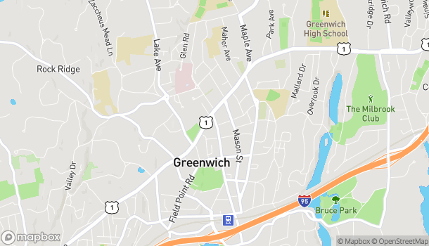 Mapa de 42 Greenwich Ave en Greenwich