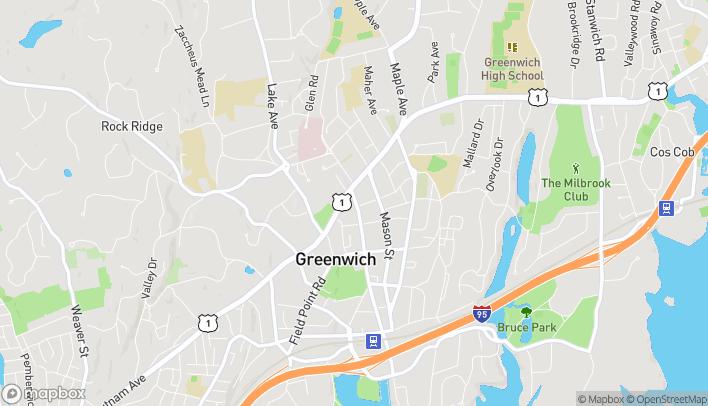 Map of 42 Greenwich Ave in Greenwich