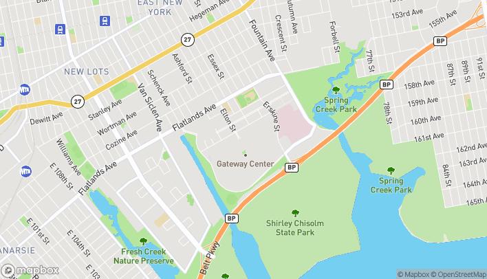 Map of 494 Gateway Drive in Brooklyn