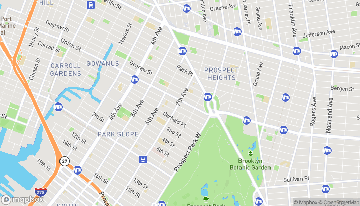 Map of 99 7th Ave N in Brooklyn
