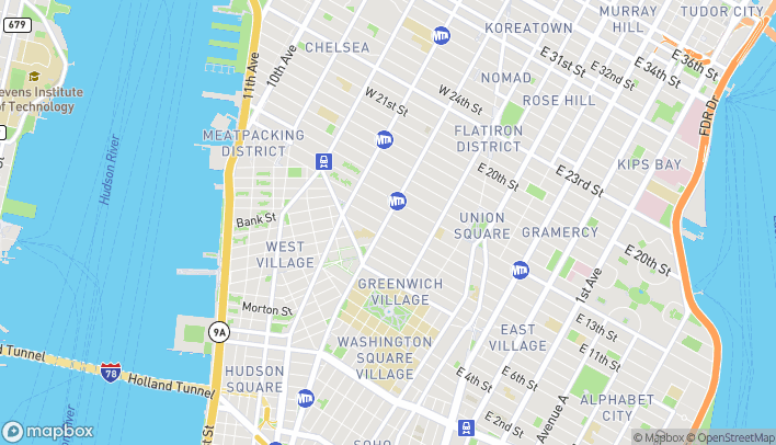 Map of 484 Avenue Of The Americas in New York
