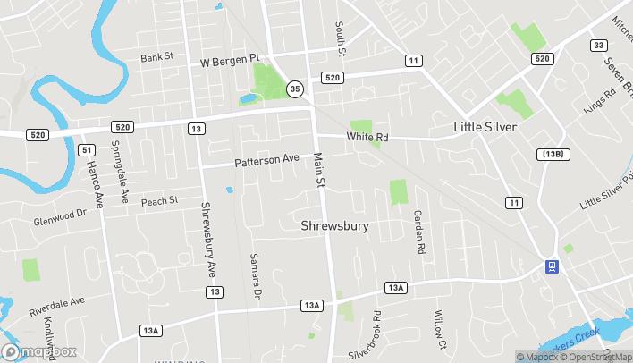 Mapa de 560 Broad Street en Shrewsbury