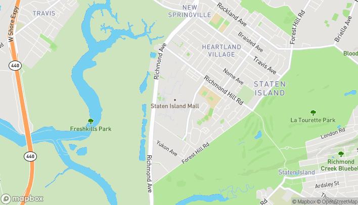 Map of 2655 Richmond Avenue in Staten Island