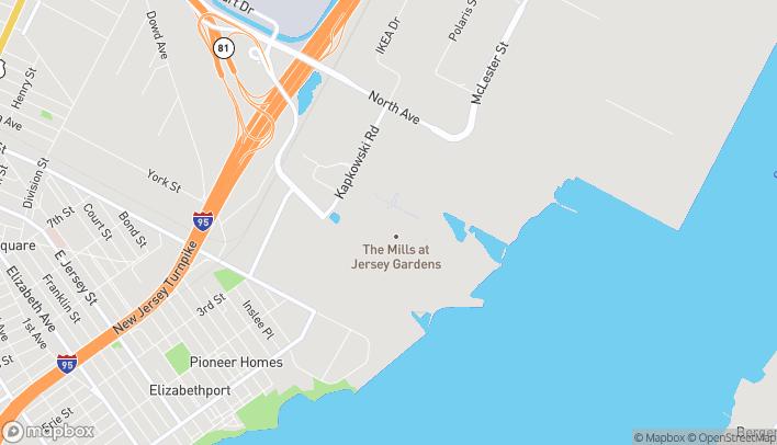 Mapa de 651 Kapkowski Road en Elizabeth
