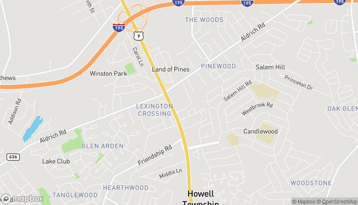 Mapa de 4053 US Hwy 9 en Howell