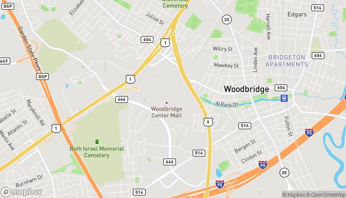 Mapa de 326 Woodbridge Center Drive en Woodbridge