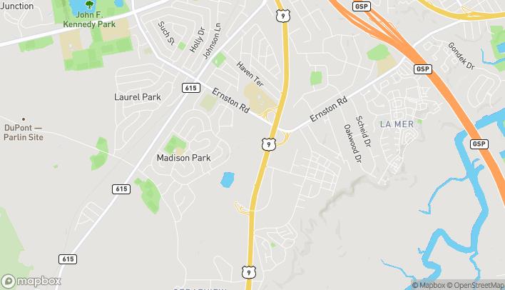 Mapa de 1054 US Hwy 9 en Parlin