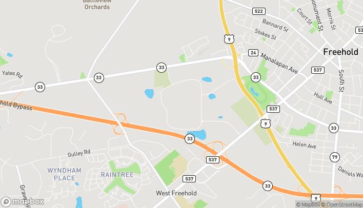 Mapa de 3710 Route 9 North en Freehold