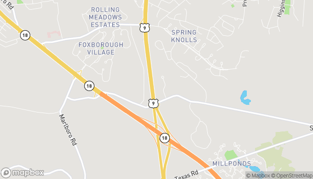 Map of 3673 Rt 9 North in Old Bridge