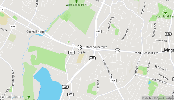 Map of 449 W Mount Pleasant Ave in Livingston