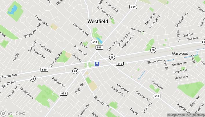 Mapa de 200 Central Avenue en Westfield