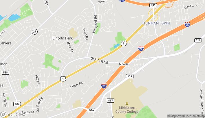 Mapa de 894 Route 1 N en Edison