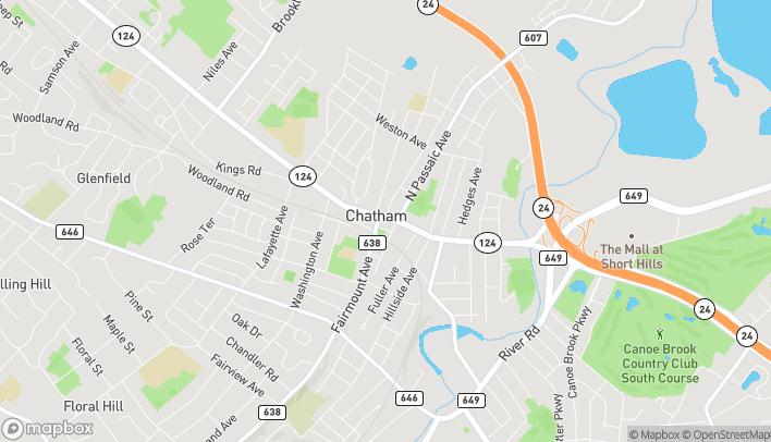 Mapa de 259 Main St en Chatham