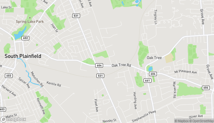 Mapa de 911 Oak Tree Road en South Plainfield