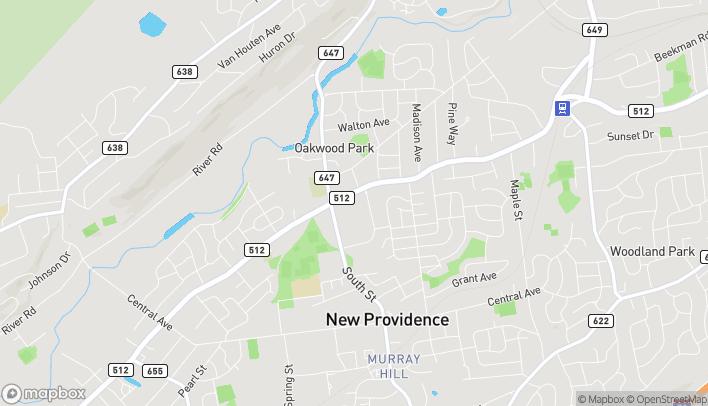 Mapa de 1260 Springfield Ave en New Providence