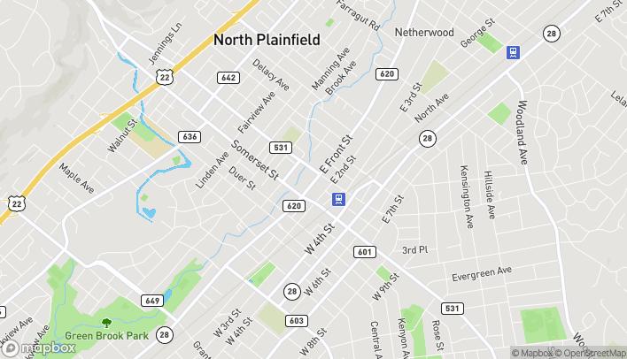 Mapa de 177A East Front Street en Plainfield