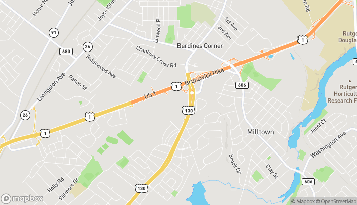 Mapa de 767 Shoppes Blvd en North Brunswick