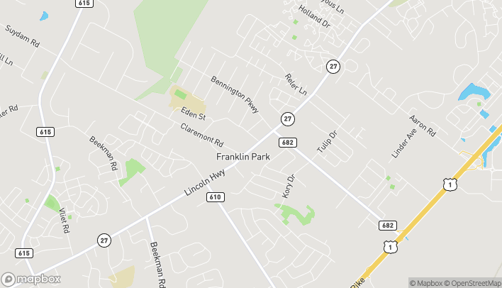 Mapa de 3029 Route 27 en Franklin Park