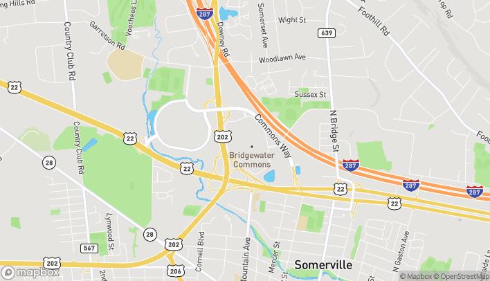 Mapa de 400 Commons Way en Bridgewater