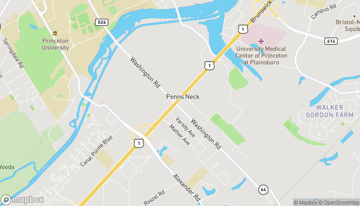 Map of 3716 US Highway 1 in Princeton