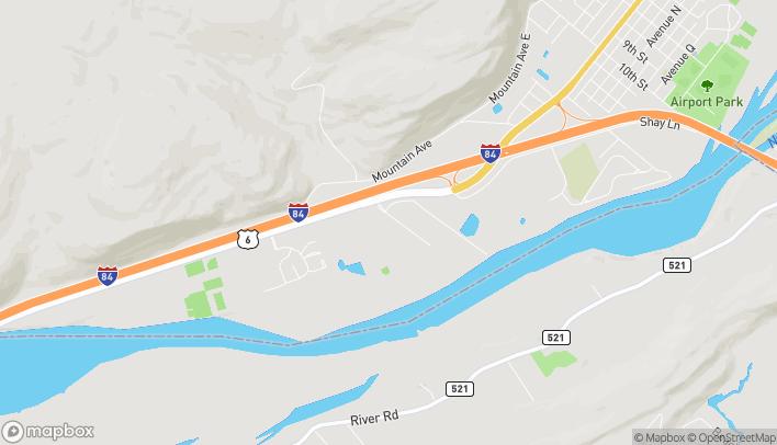 Map of 111 Hulst Drive in Matamoras