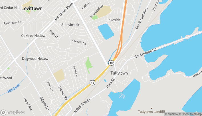 Map of 173A Levittown Parkway in Levittown