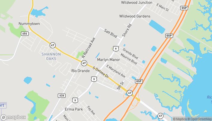 Mapa de 3301 Route 9 S en Rio Grande