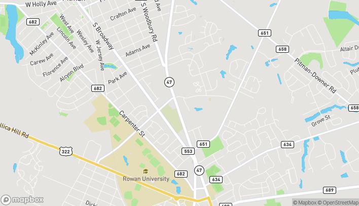 Mapa de 698 N Delsea Dr en Glassboro
