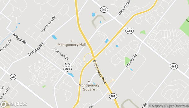 Map of 931 Bethlehem Pike in Montgomeryville