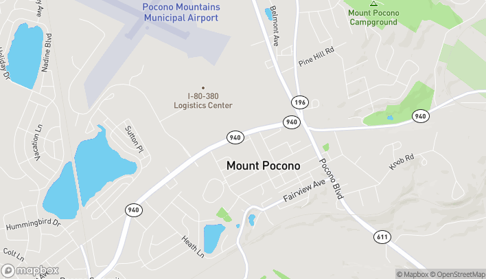 Map of 3308 Route 940 in Mount Pocono
