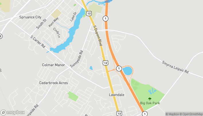 Map of 300 Jimmy Drive in Smyrna