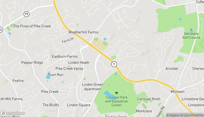 Mapa de 4500 New Linden Hill Road en Wilmington