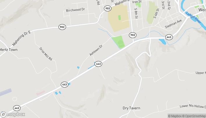 Map of 1020 E Blakeslee Boulevard in Lehighton