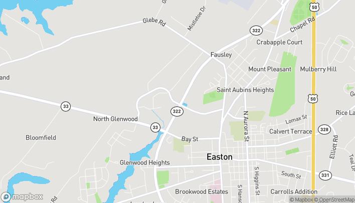 Mapa de 28614 Marlboro Avenue en Easton