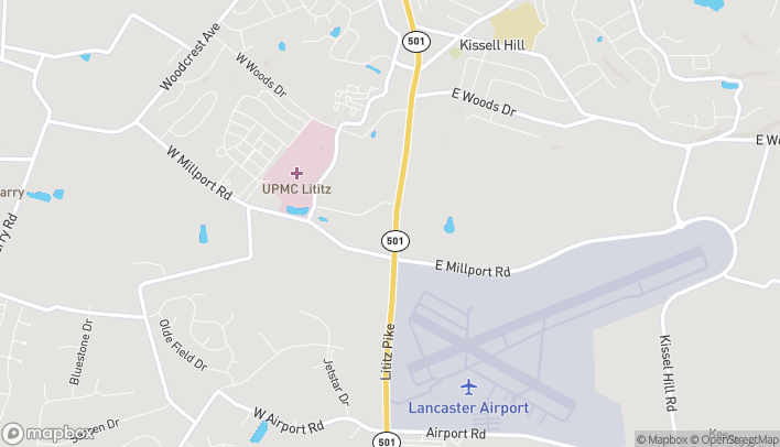 Map of 1054-A Lititz Pike in Lititz