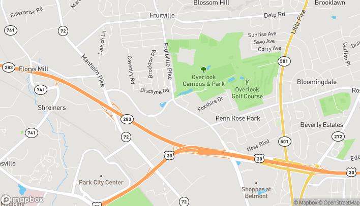 Map of 2089 Fruitville Pike in Lancaster