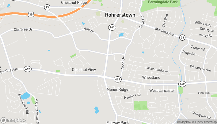 Map of 101 Rohrestown Road in Lancaster