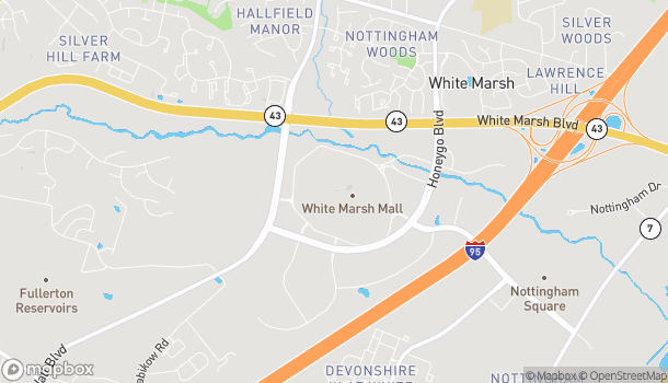 Map of 8200 Perry Hall Blvd in Baltimore