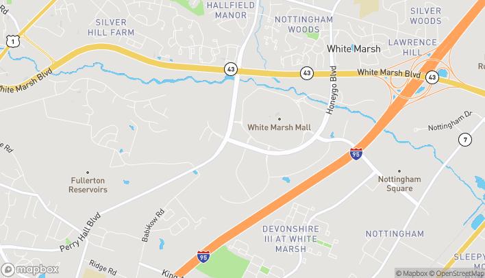 Mapa de 7978 Honeygo Blvd en Nottingham