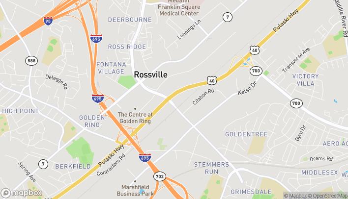 Mapa de 8803 Pulaski Hwy en Rosedale