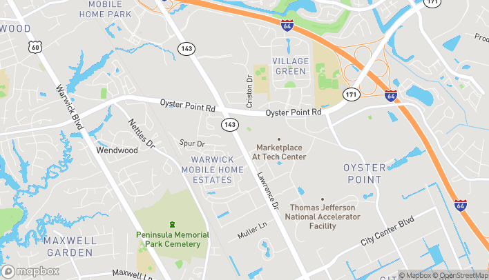 Map of 12080 Jefferson Ave in Newport News